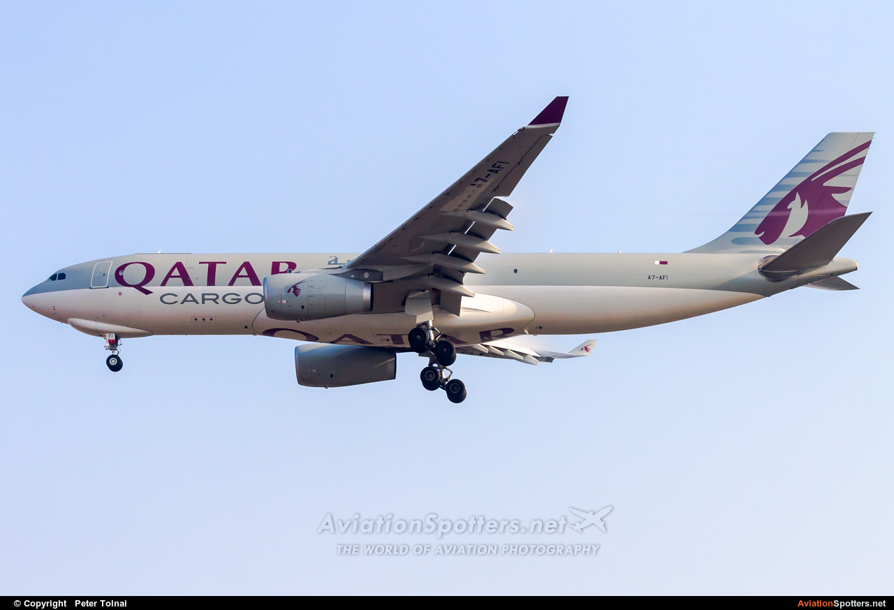 Qatar Airways Cargo  -  A330-243  (A7-AFI) By Peter Tolnai (ptolnai)
