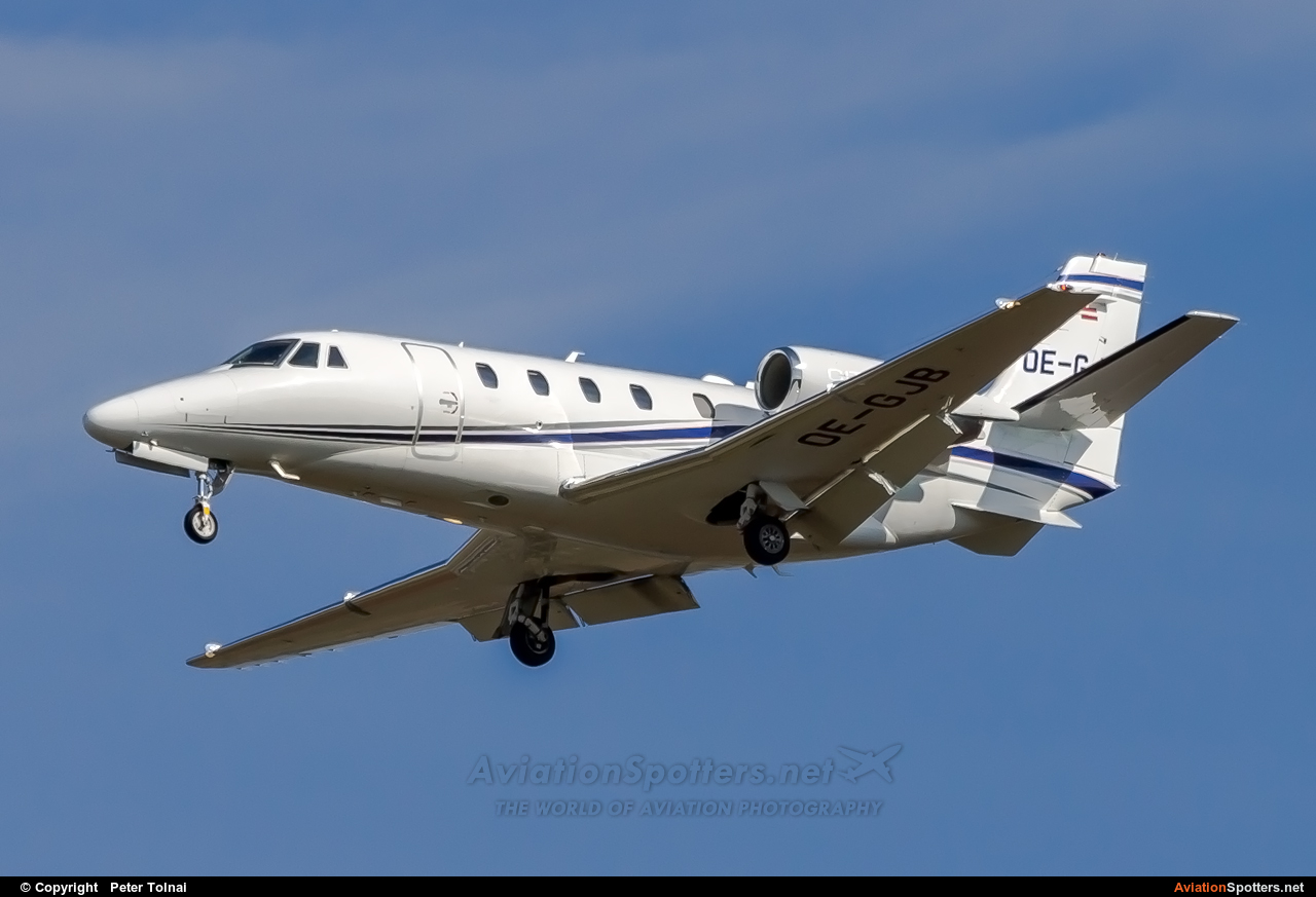 Untitled  -  560XL Citation XLS  (OE-GJB) By Peter Tolnai (ptolnai)