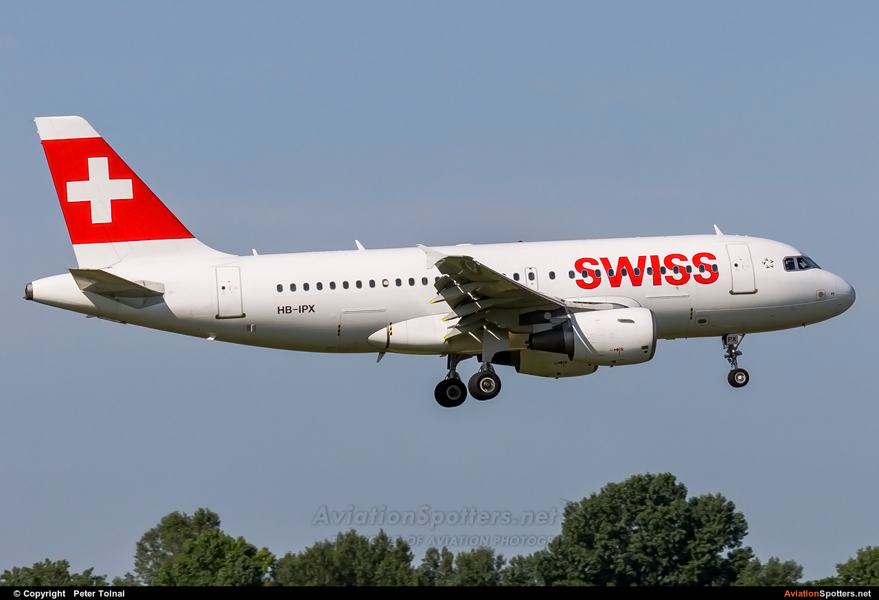Swiss International  -  A319  (HB-IPX) By Peter Tolnai (ptolnai)