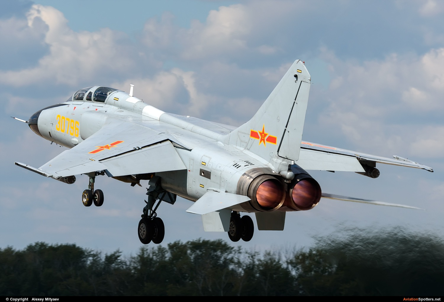 China - Air Force  -  JH-7A  (30796) By Alexey Mityaev (Alexey Mityaev)