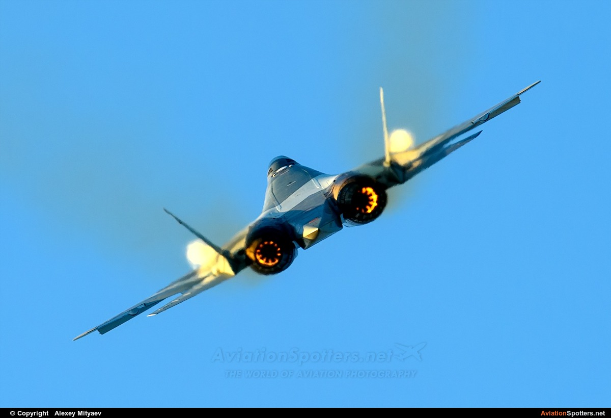 Russia - Air Force  -  T-50  (054) By Alexey Mityaev (Alexey Mityaev)
