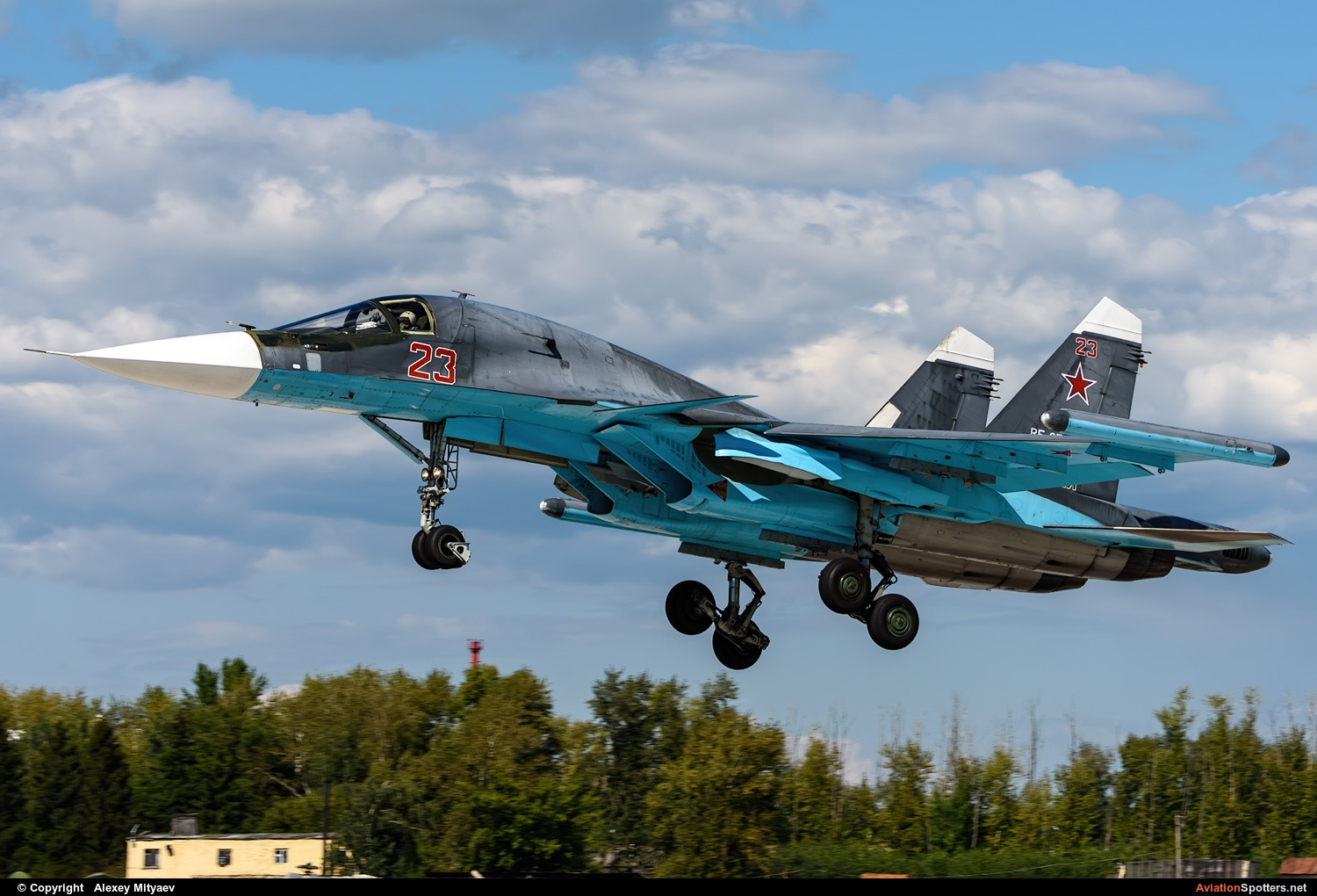 Russia - Air Force  -  Su-34  (RF-95810) By Alexey Mityaev (Alexey Mityaev)
