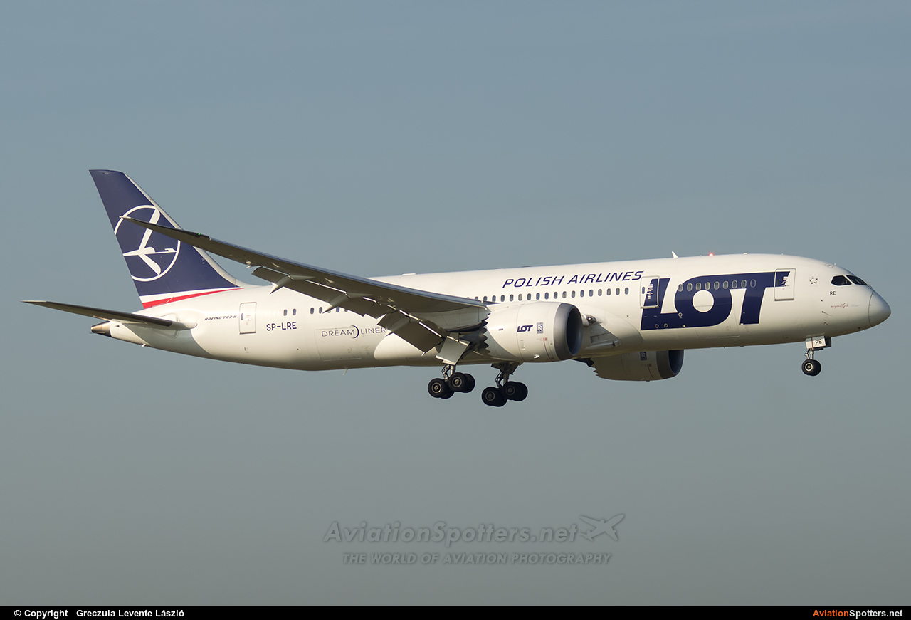 LOT - Polish Airlines  -  787-8 Dreamliner  (SP-LRE) By Greczula Levente László (greclev)