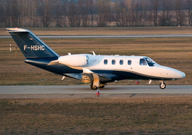 Cessna - 525 CitationJet (F-HSHC) - regos