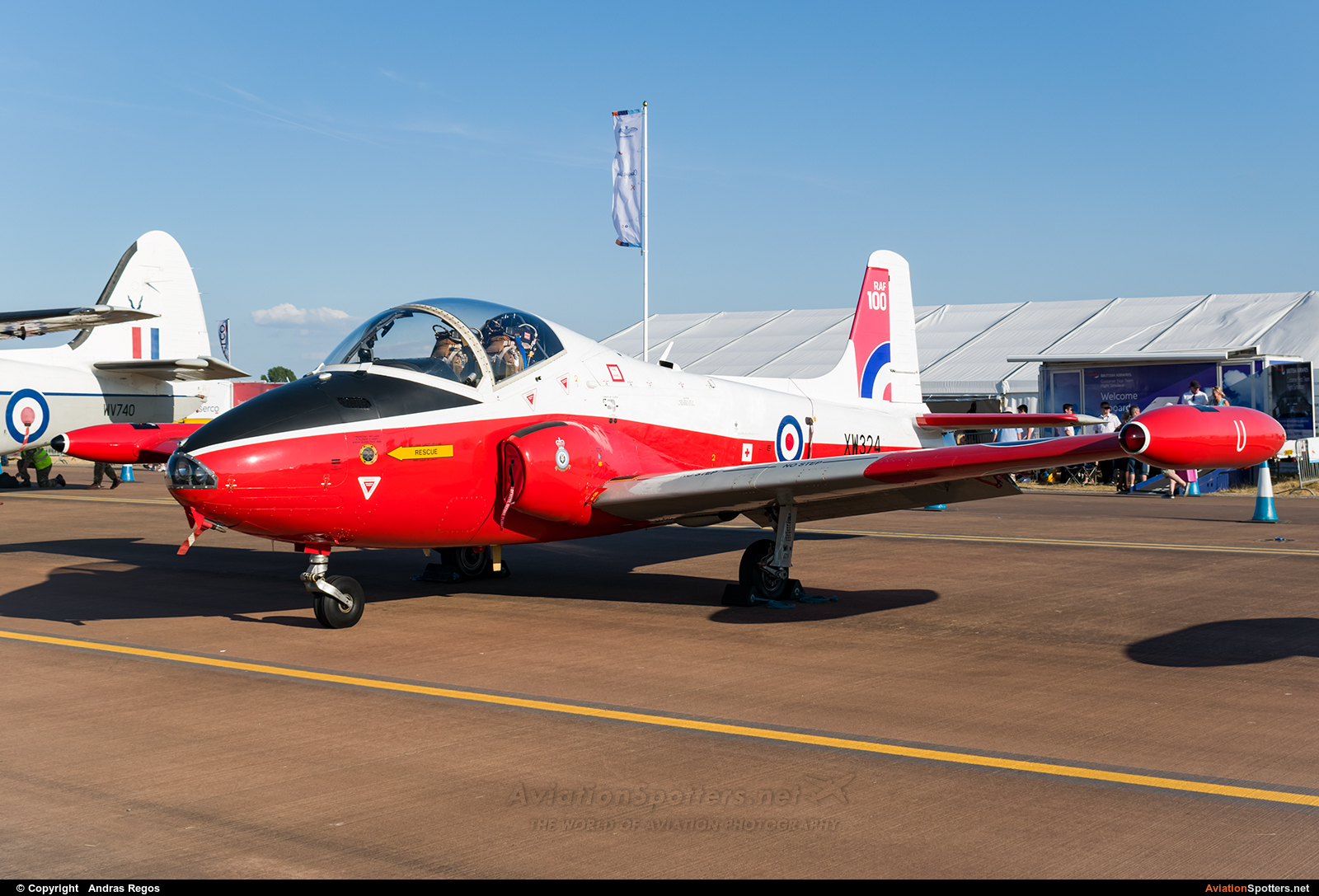 UK - Air Force  -  Jet Provost T.5A  (XW324) By Andras Regos (regos)