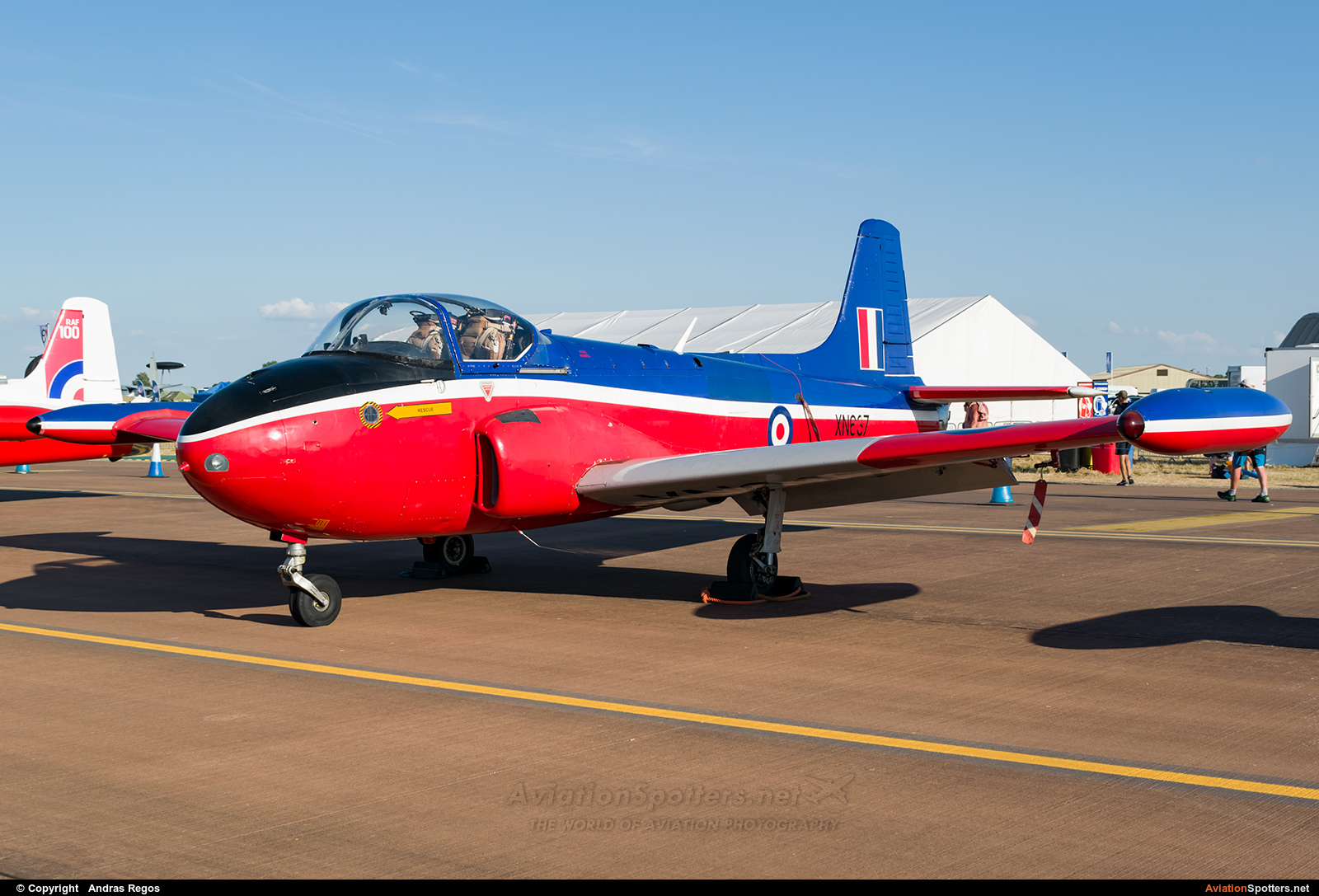 Private  -  Jet Provost T.3 - 3A  (G-BKOU) By Andras Regos (regos)