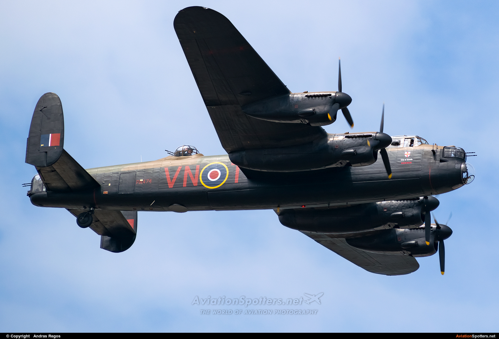 UK - Air Force: Battle of Britain Memorial Flight  -  683 Lancaster B. I  (PA474) By Andras Regos (regos)