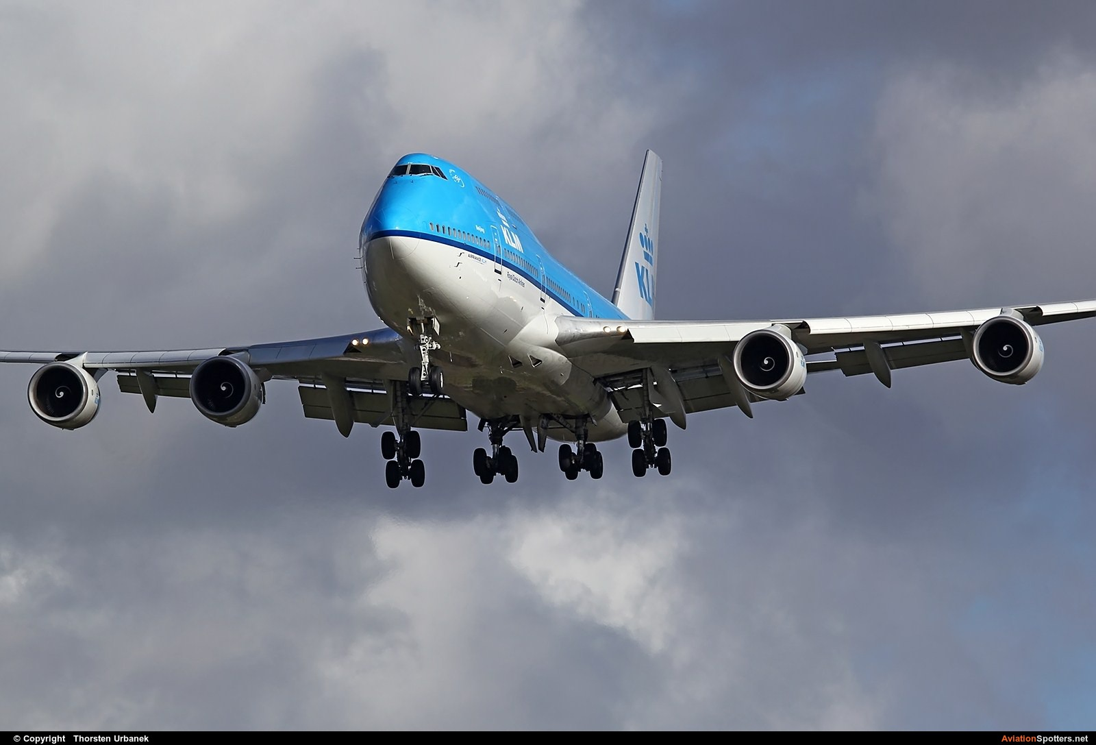 KLM  -  747-400  (PH-BFU) By Thorsten Urbanek (toto1973)