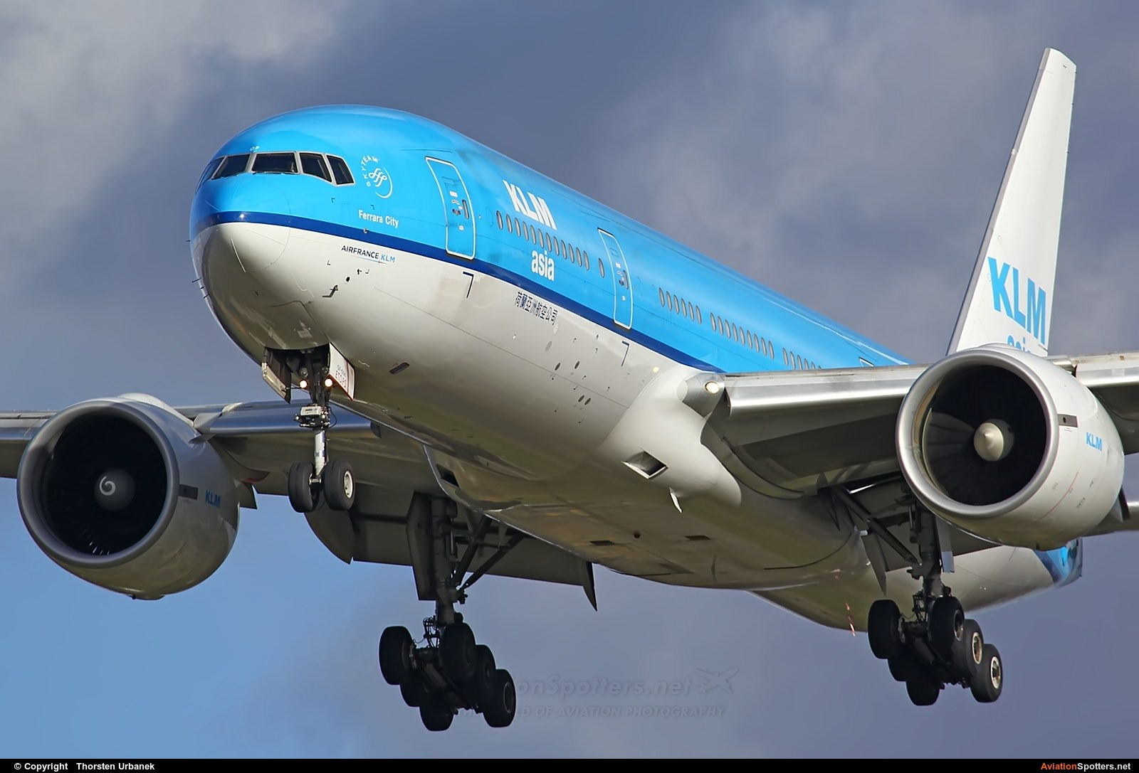KLM  -  777-200ER  (PH-BQF) By Thorsten Urbanek (toto1973)