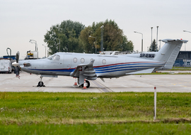 Pilatus - PC-12 (SP-EMA) - Piciu