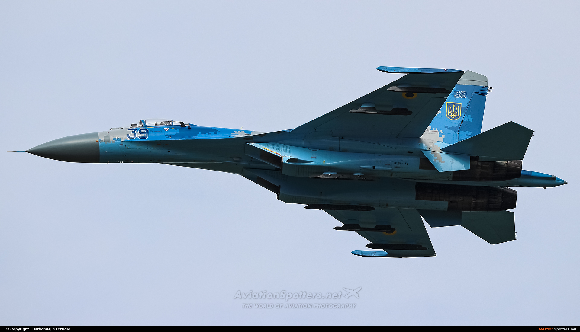 Ukraine - Air Force  -  Su-27  (39) By Bartlomiej Szczudlo  (BartekSzczudlo)
