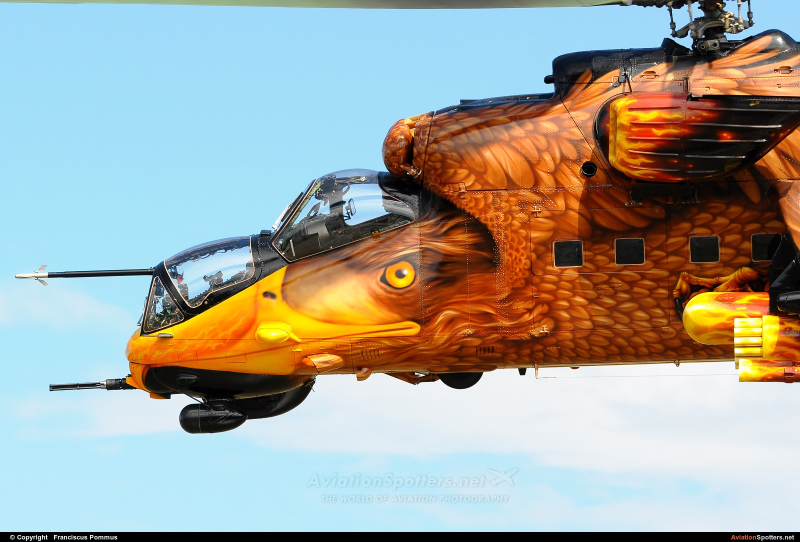 Hungary - Air Force  -  Mi-24V  (716) By Franciscus Pommus (Francesco)