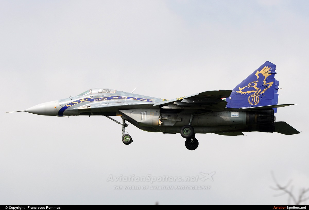 Hungary - Air Force  -  MiG-29B  (11) By Franciscus Pommus (Francesco)