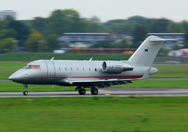 Bombardier - CL-600 Challenger (LX-ZED) - lukasz_rad