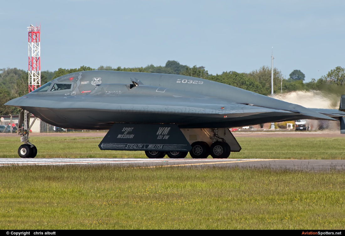 USA - Air Force  -  B-2A Spirit  (88-0329 ) By chris albutt (ctt2706)