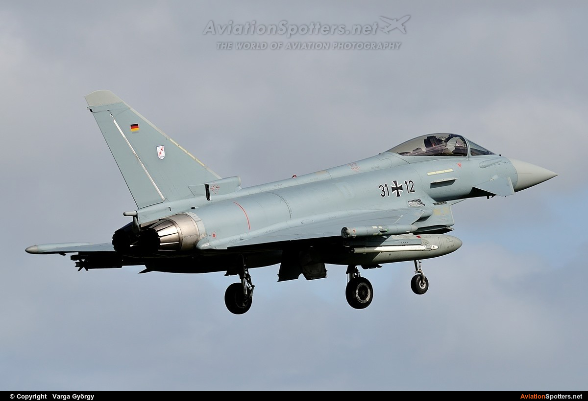 Germany - Air Force  -  EF-2000 Typhoon S  (31+12) By Varga György (vargagyuri)