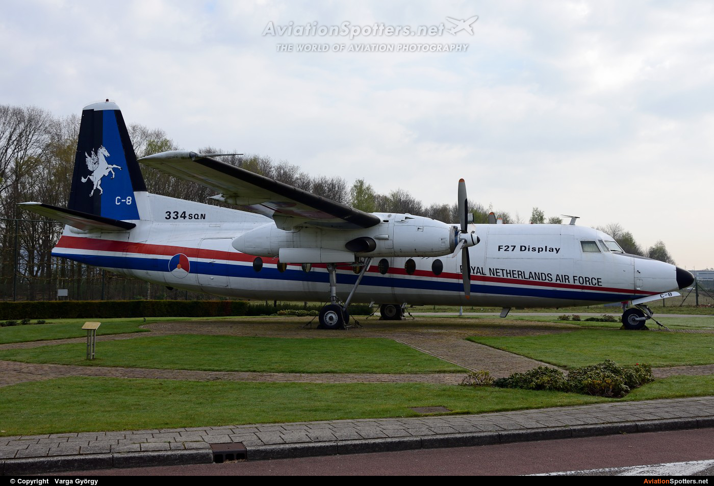 Netherlands - Air Force  -  F27-300M Troopship  (