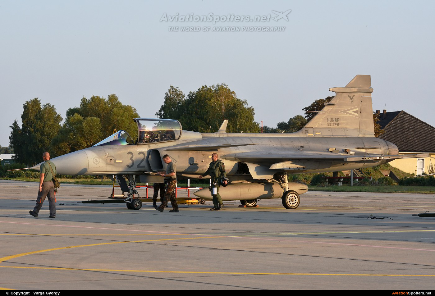 Hungary - Air Force  -  JAS 39C Gripen  (32) By Varga György (vargagyuri)