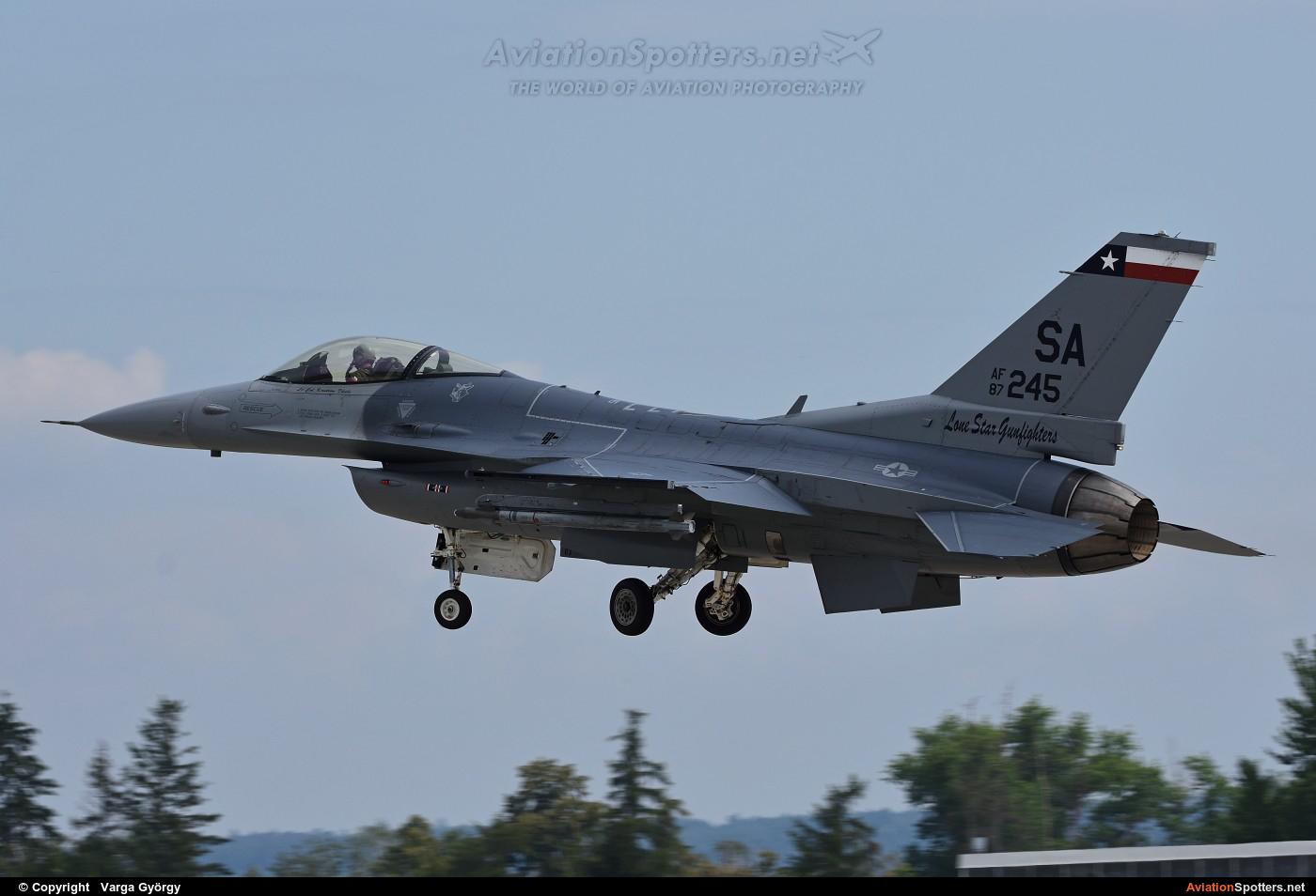 USA - Air Force  -  F-16C Fighting Falcon  (87-0245) By Varga György (vargagyuri)