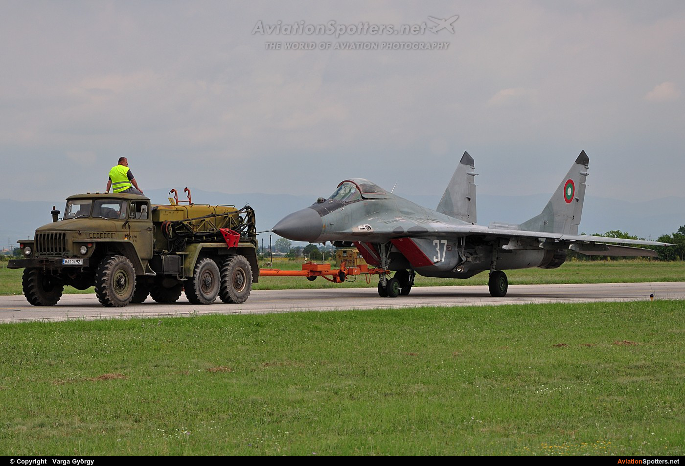 Bulgaria - Air Force  -  MiG-29A  (37) By Varga György (vargagyuri)