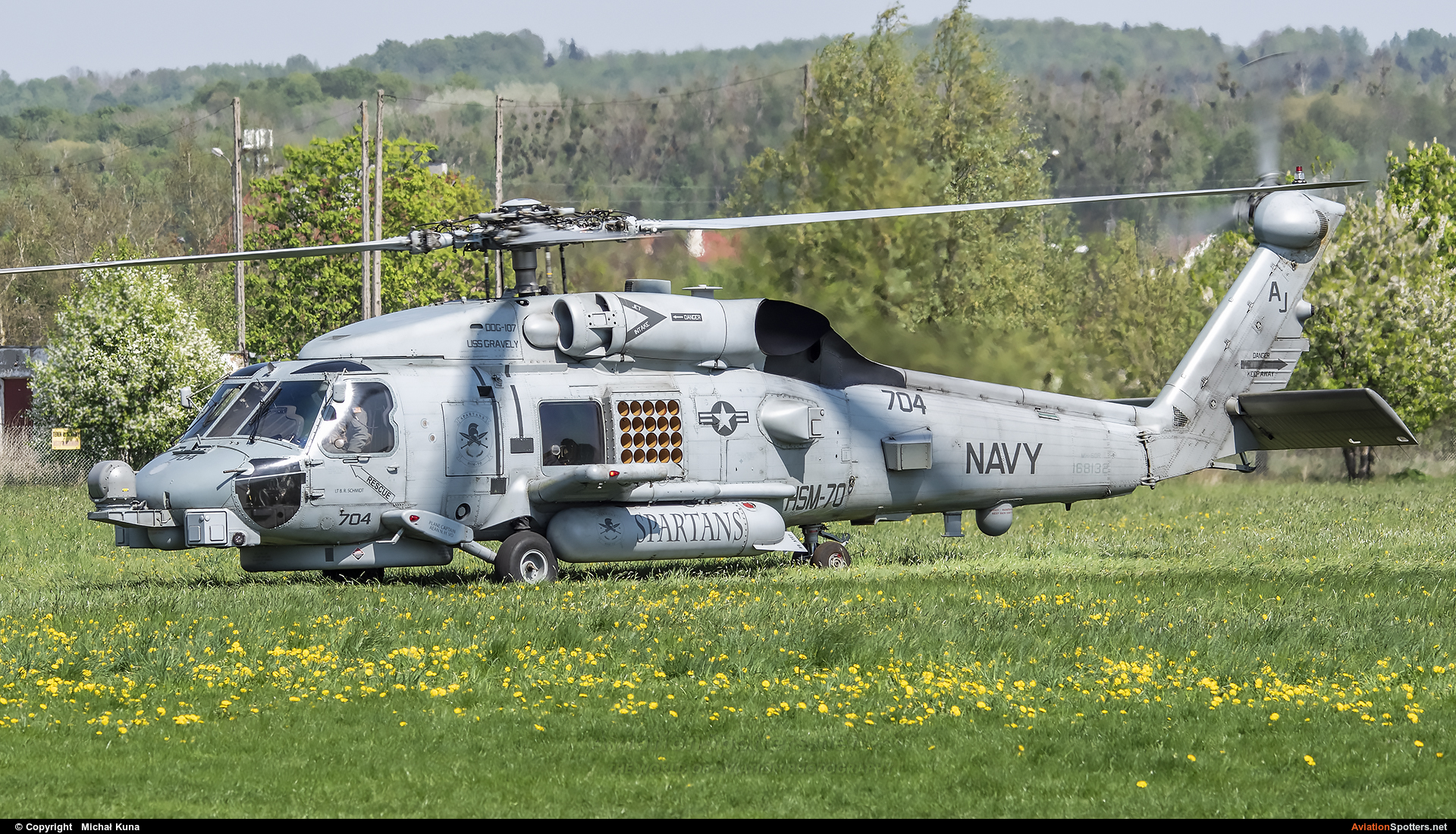 USA - Navy  -  MH-60R Seahawk  (168132) By Michał Kuna (big)