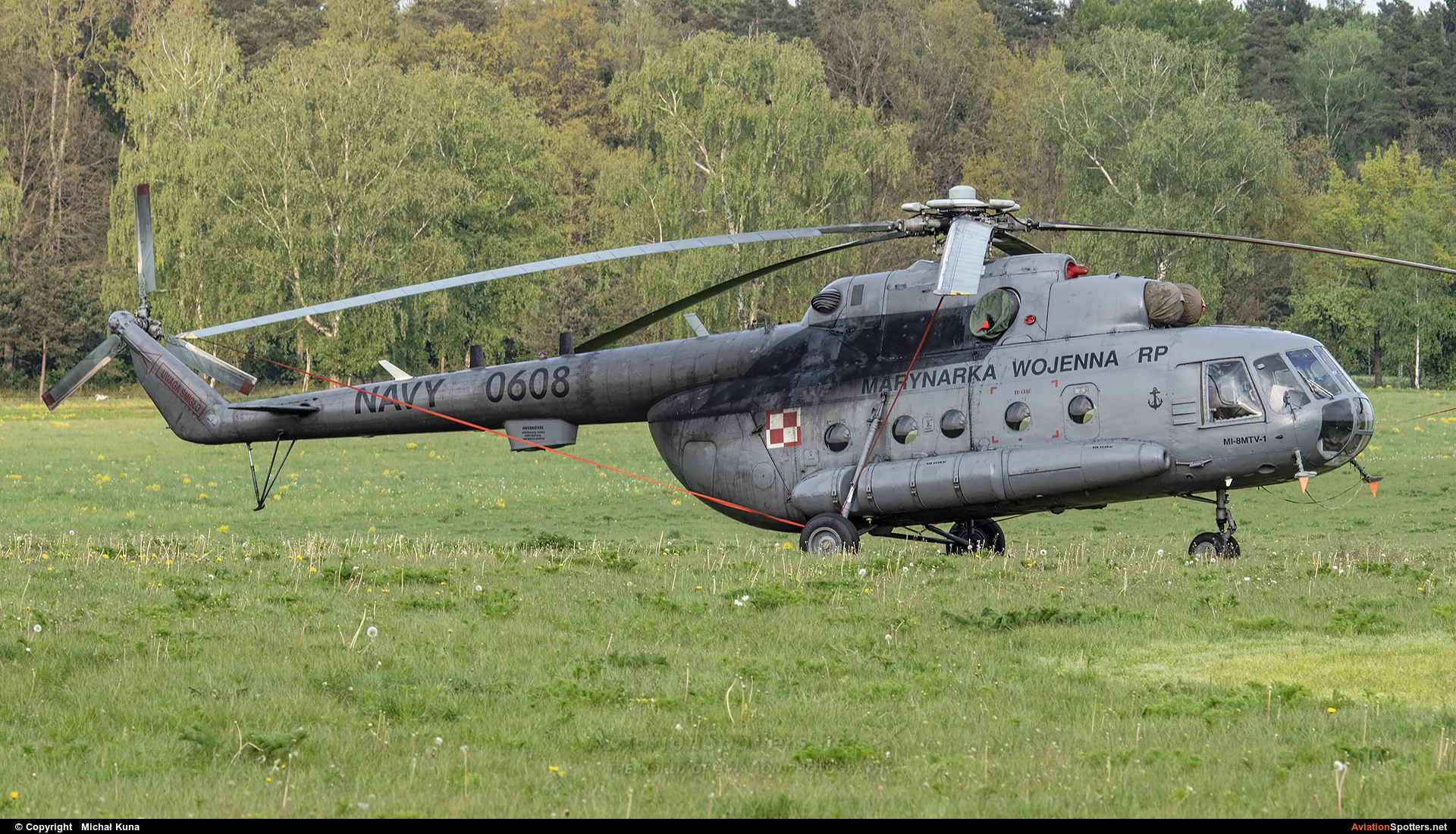 Poland - Navy  -  Mi-17  (0608) By Michał Kuna (big)