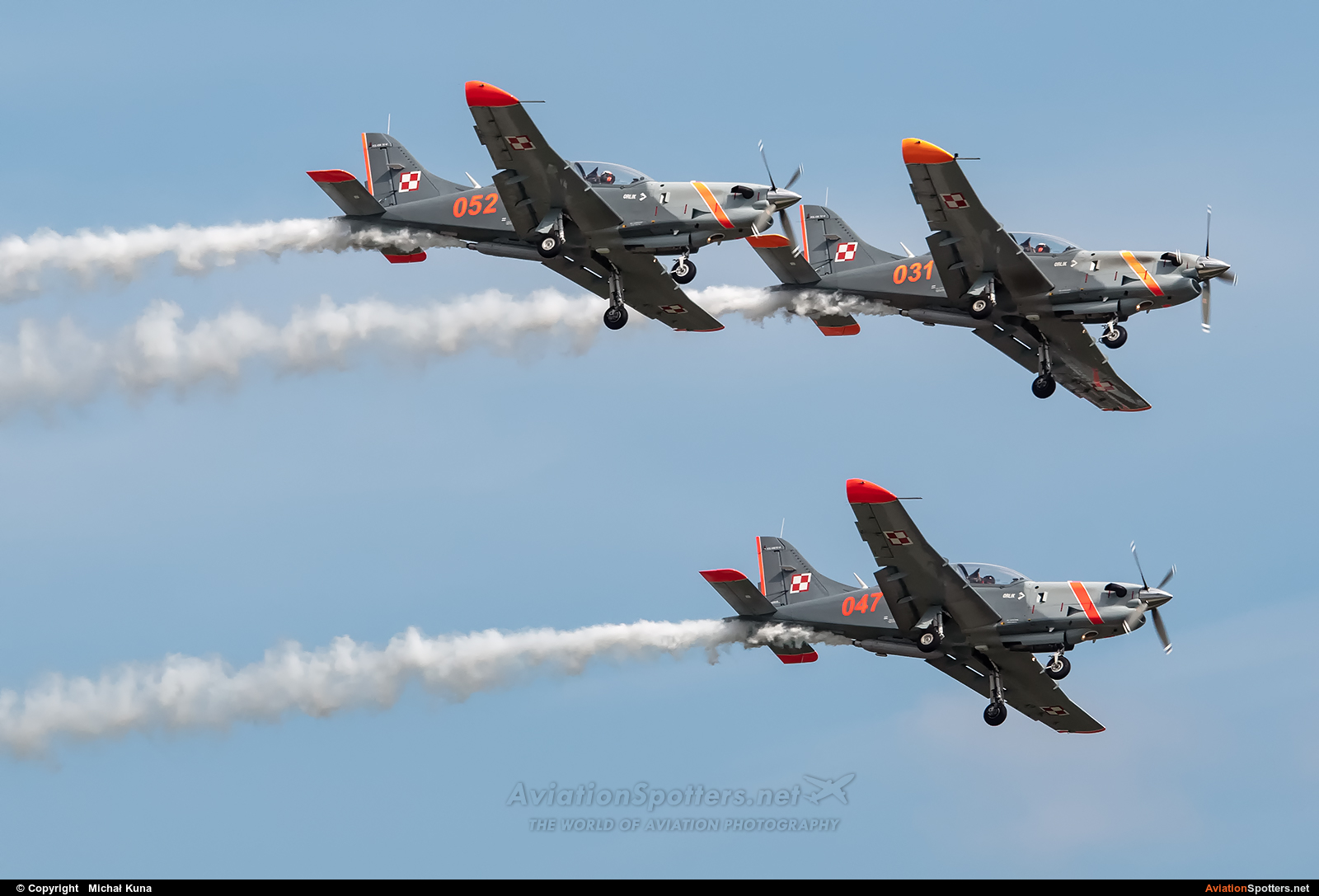 Poland - Air Force : Orlik Acrobatic Group  -  PZL-130 Orlik TC-1 - 2  (031) By Michał Kuna (big)