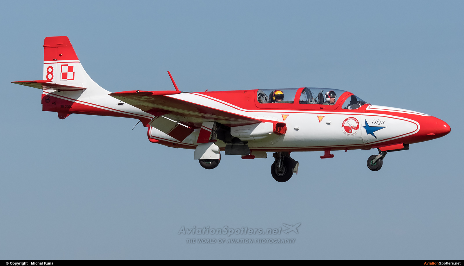 Poland - Air Force: White & Red Iskras  -  TS-11 Iskra  (3H-2004) By Michał Kuna (big)