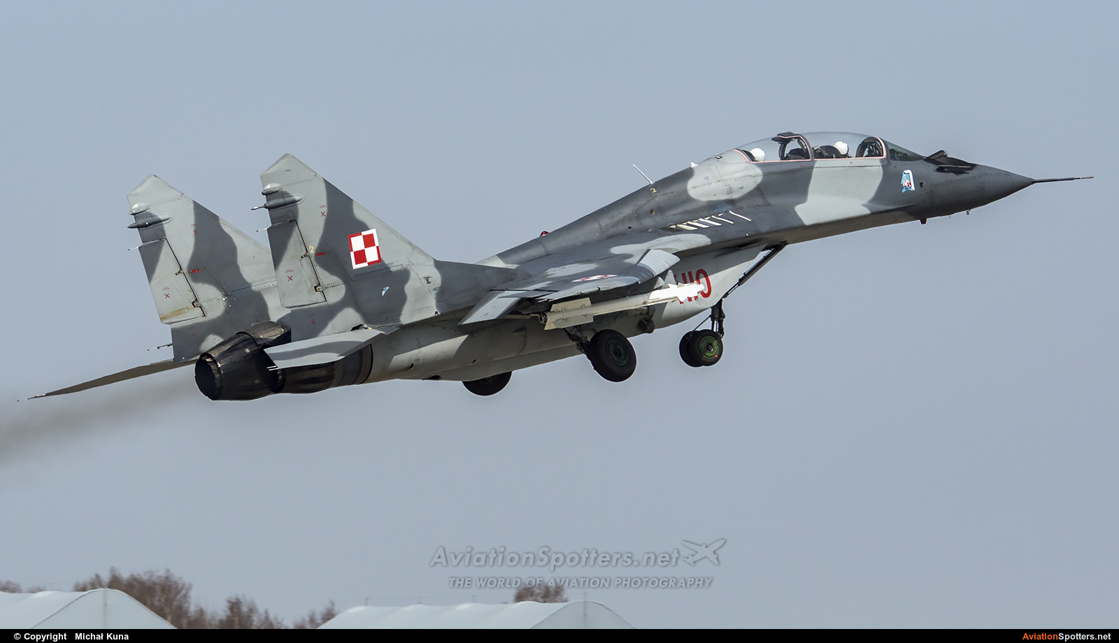 Poland - Air Force  -  MiG-29GT  (4110) By Michał Kuna (big)