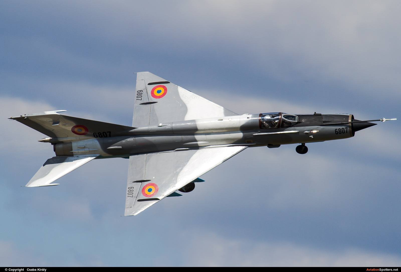 Romania - Air Force  -  MiG-21 LanceR C  (6807) By Csaba Király (Csaba Kiraly)