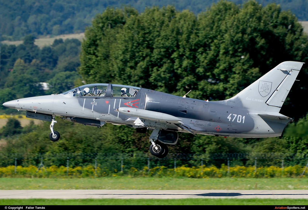 Slovakia - Air Force  -  L-39ZAM Albatros  (4701) By Faller Tamás (fallto78)