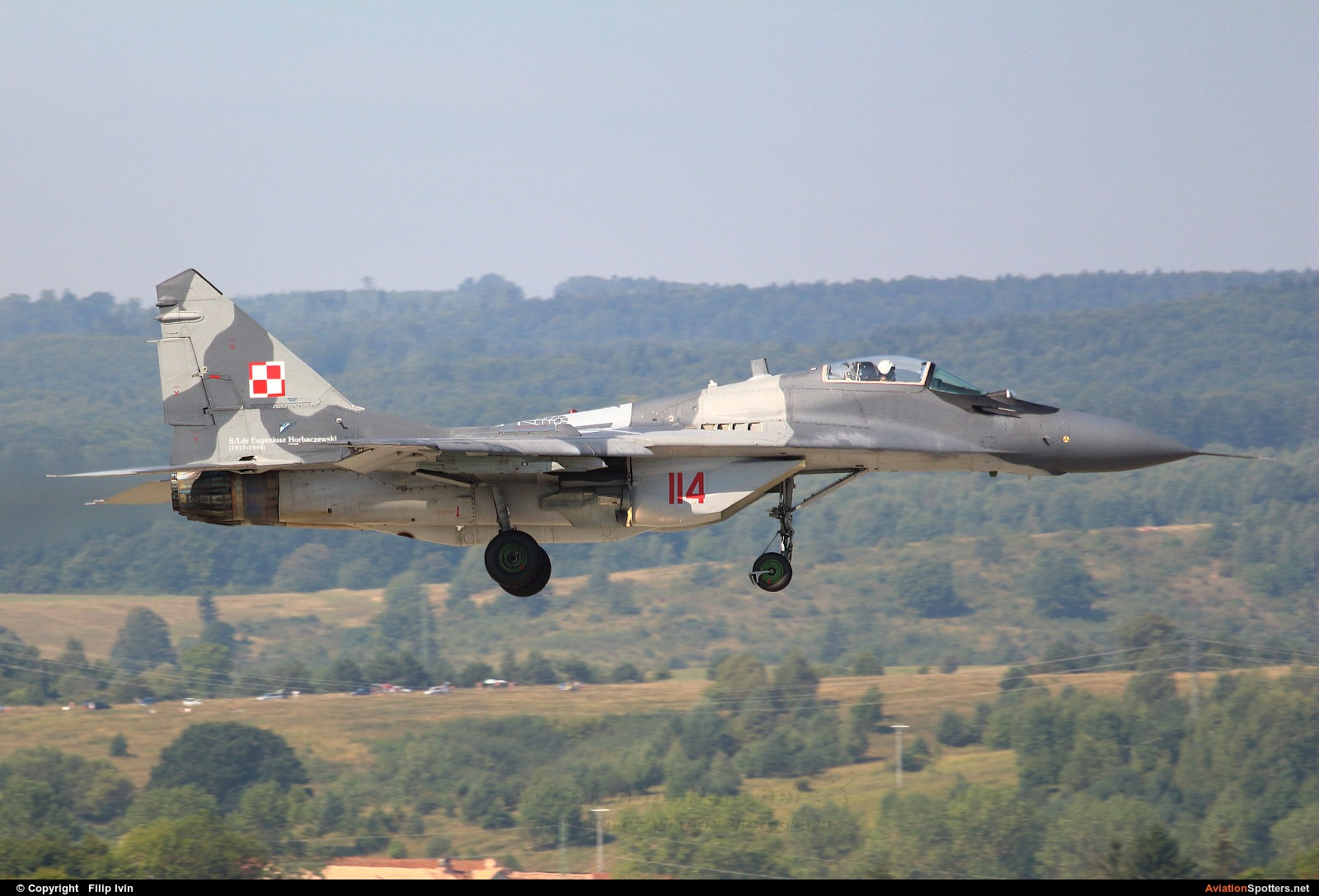 Poland - Air Force  -  MiG-29A  (114) By Filip Ivín (Filipivin)