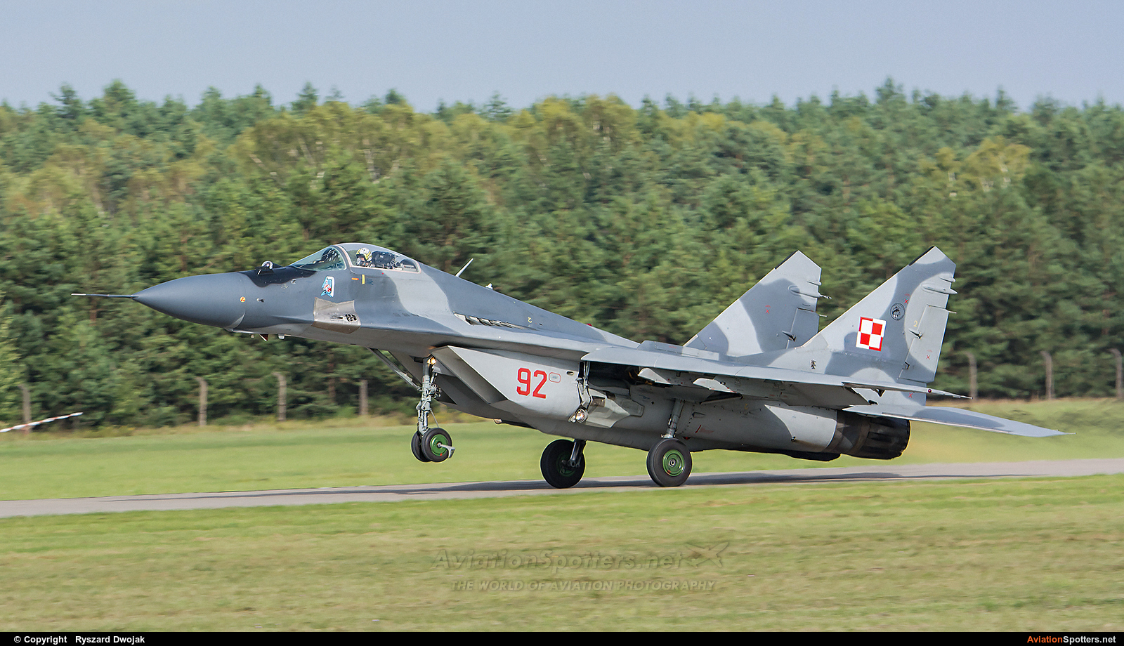 Poland - Air Force  -  MiG-29  (92) By Ryszard Dwojak (ryś)