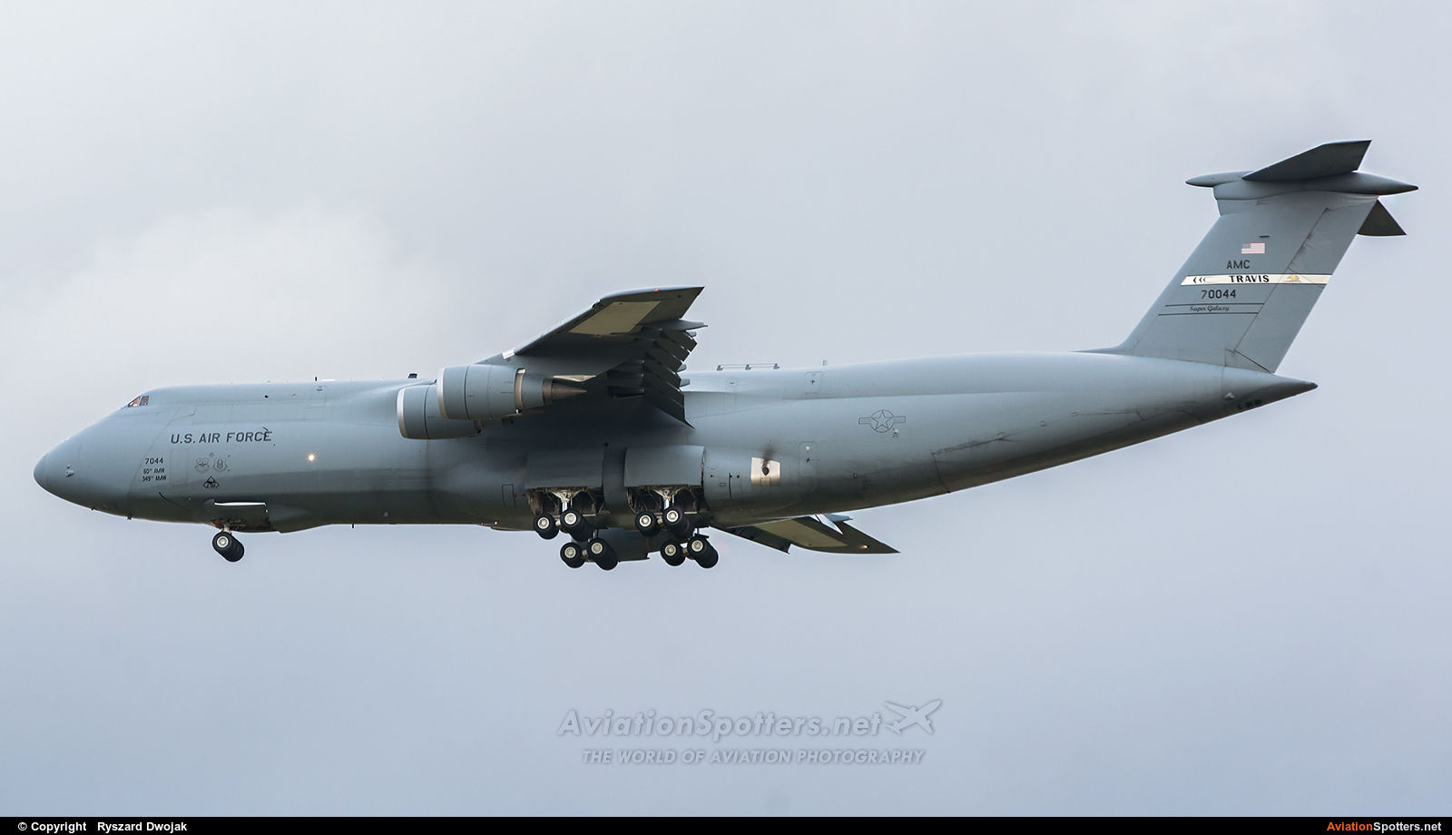 USA - Air Force  -  C-5M Super Galaxy  (87-0044) By Ryszard Dwojak (ryś)