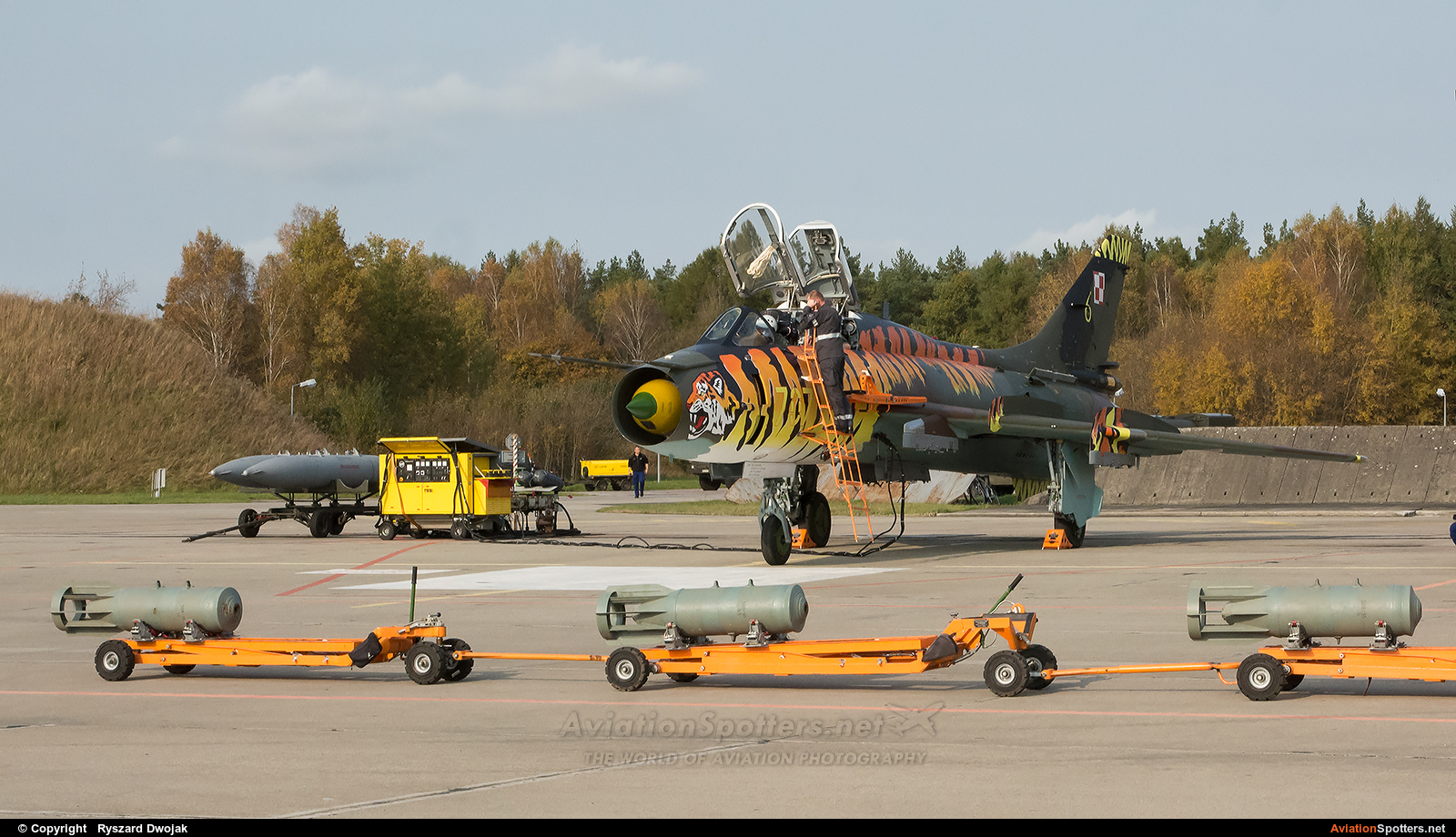 Poland - Air Force  -  Su-22UM-3K  (707) By Ryszard Dwojak (ryś)