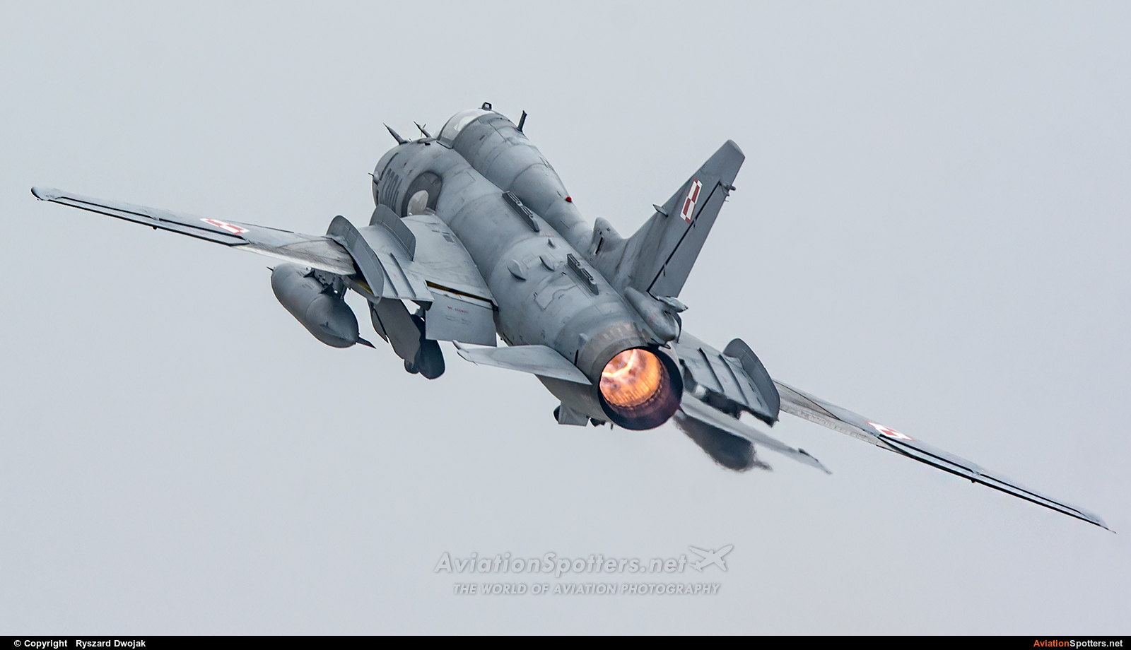 Poland - Air Force  -  Su-22M-4  (3304) By Ryszard Dwojak (ryś)