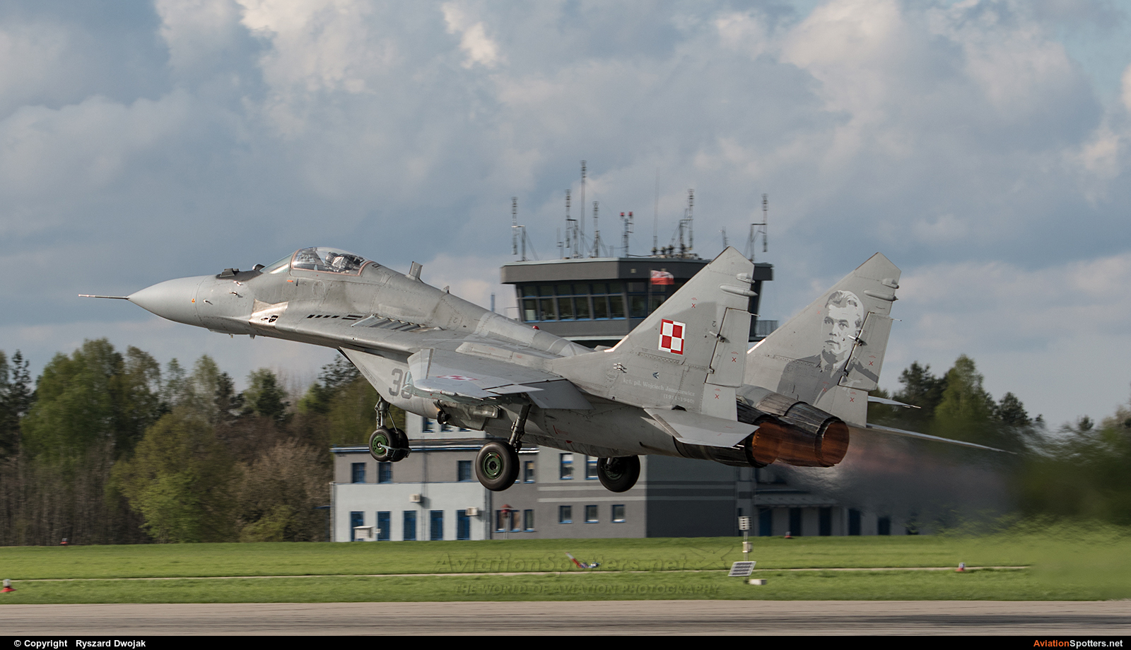 Poland - Air Force  -  MiG-29  (38) By Ryszard Dwojak (ryś)
