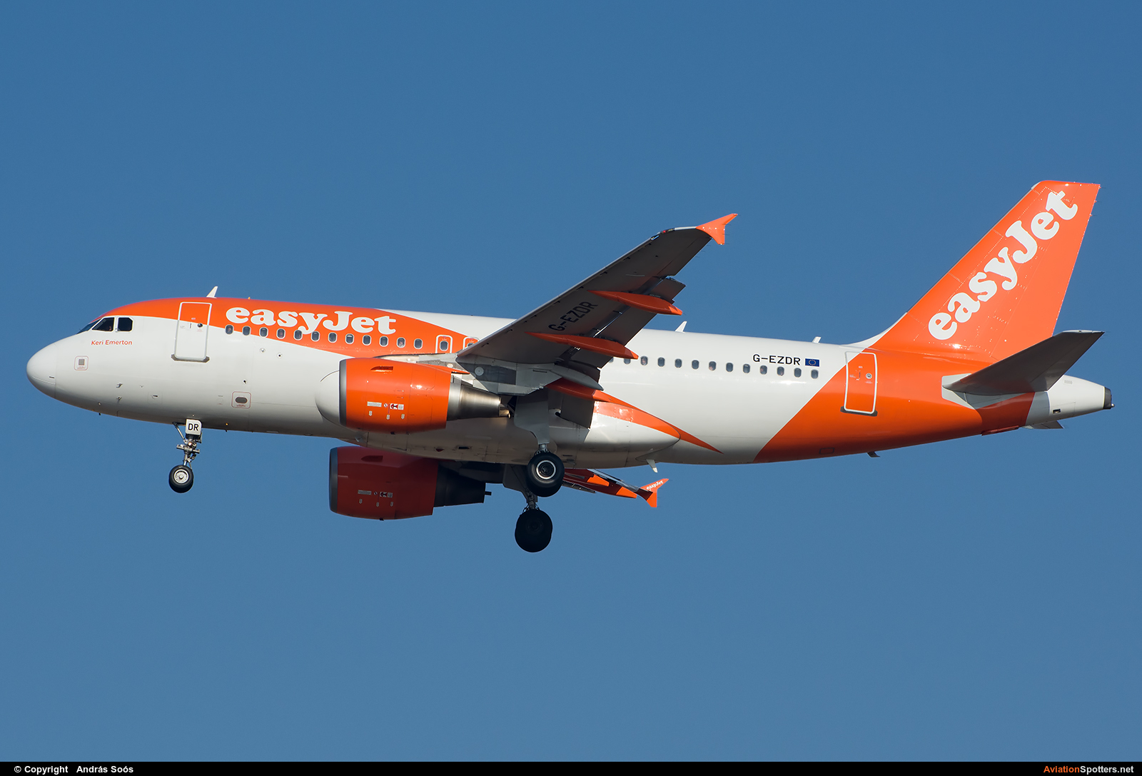 easyJet  -  A319-111  (G-EZDR) By András Soós (sas1965)