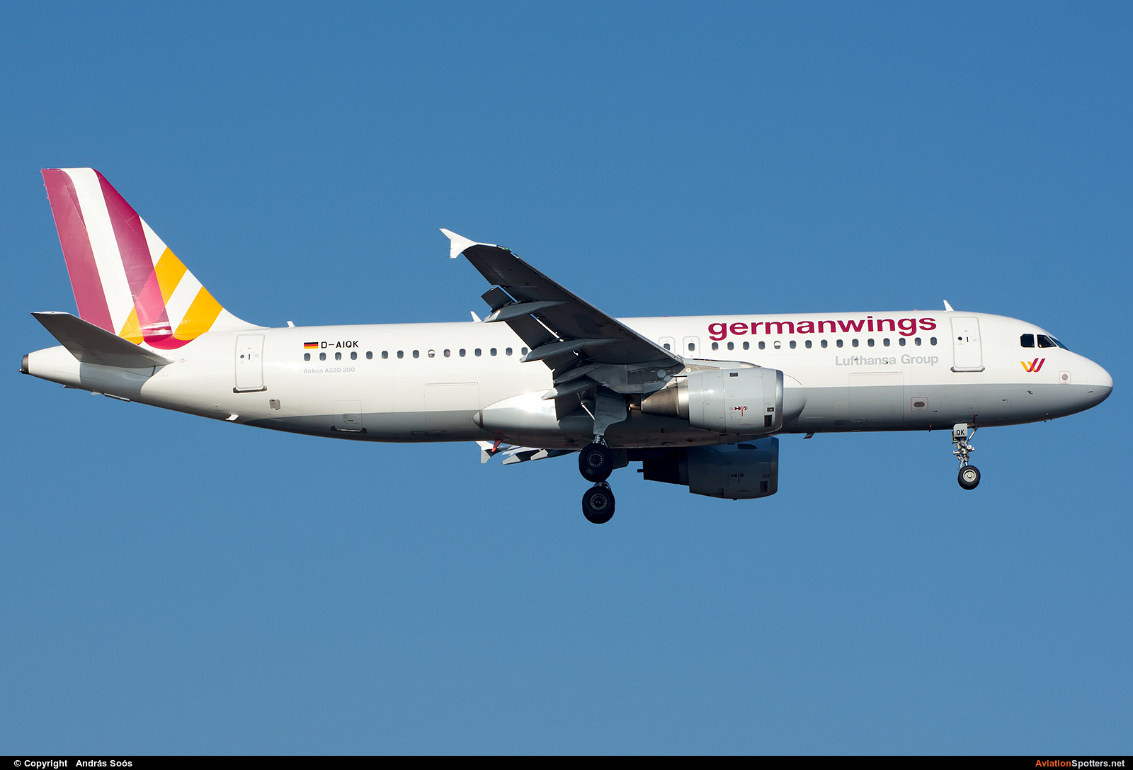 Germanwings  -  A320  (D-AIQK) By András Soós (sas1965)