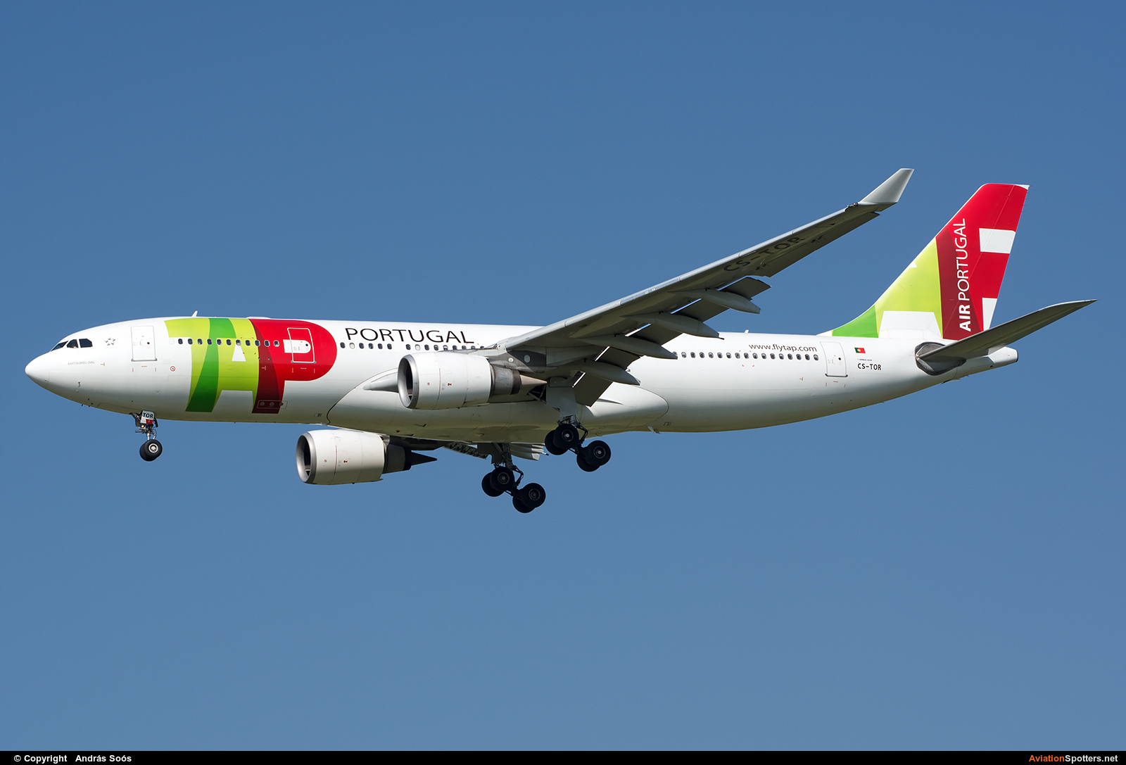 TAP Portugal  -  A330-200  (CS-TOR) By András Soós (sas1965)