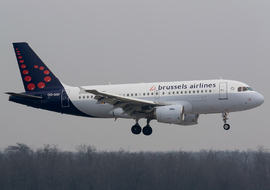 Airbus - A319-111 (OO-SSF) - Roodkop
