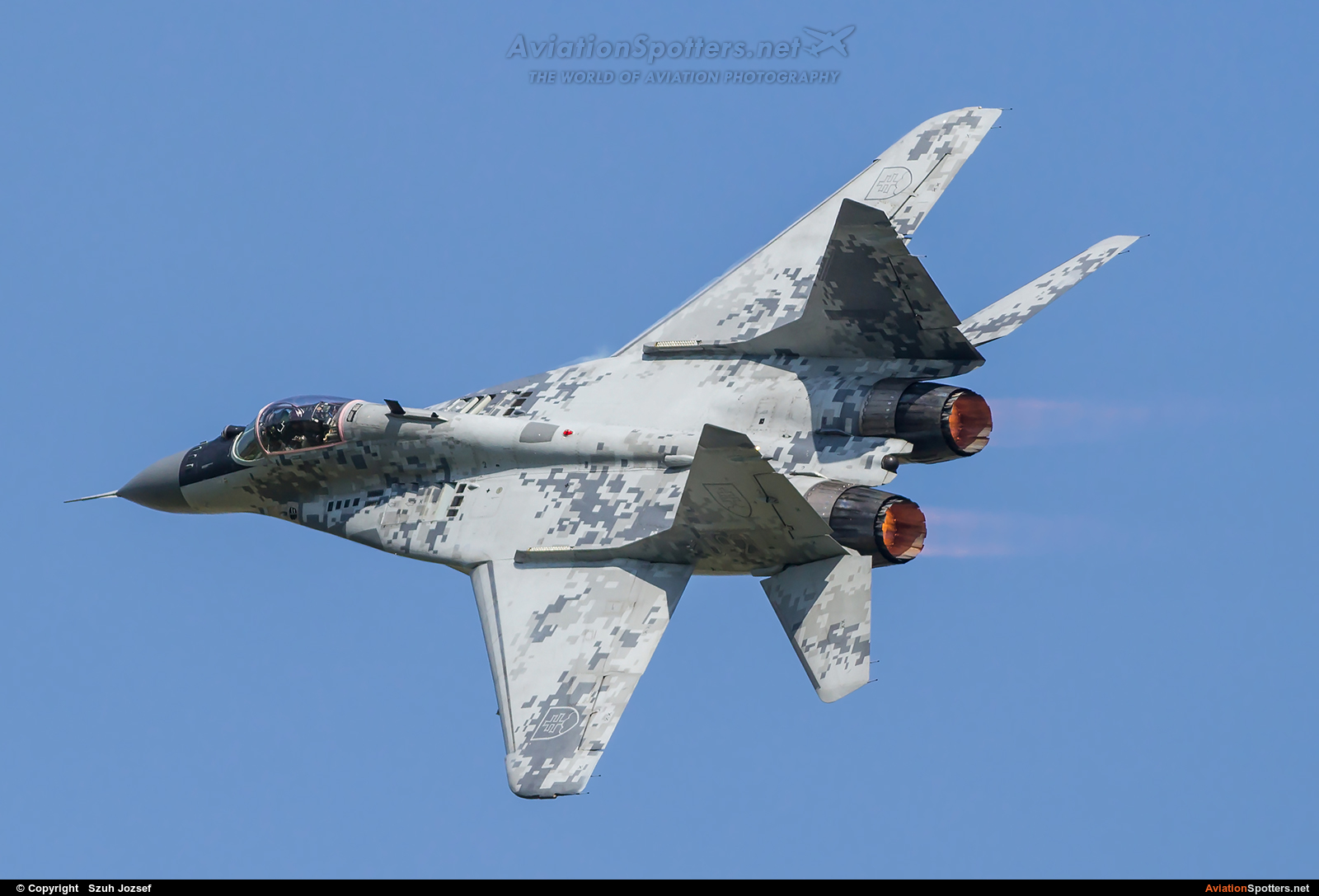 Slovakia - Air Force  -  MiG-29AS  (0921) By Szuh Jozsef (szuh jozsef)