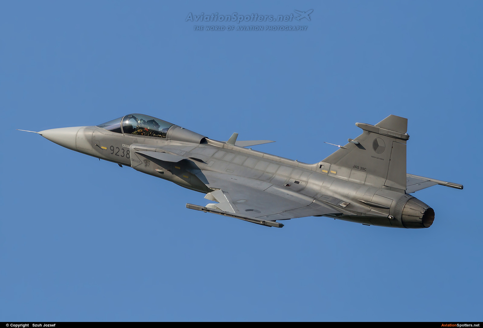 Czech - Air Force  -  JAS 39C Gripen  (9238) By Szuh Jozsef (szuh jozsef)