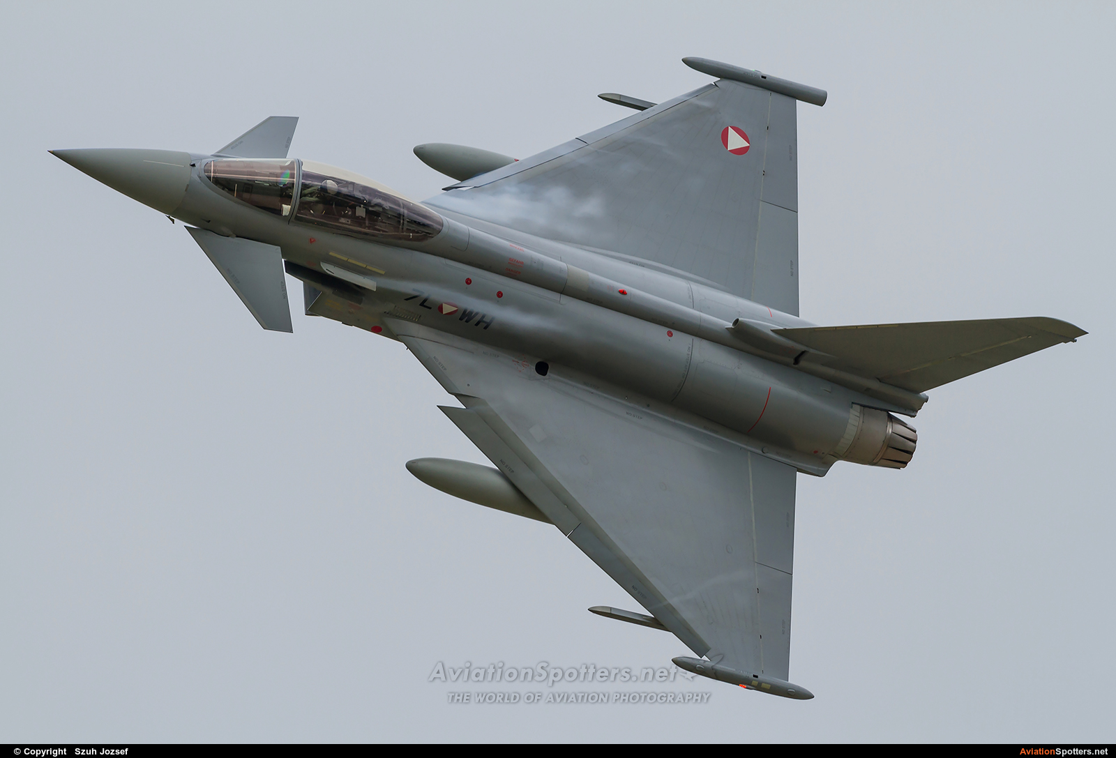 Austria - Air Force  -  EF-2000 Typhoon S  (7L-WH) By Szuh Jozsef (szuh jozsef)