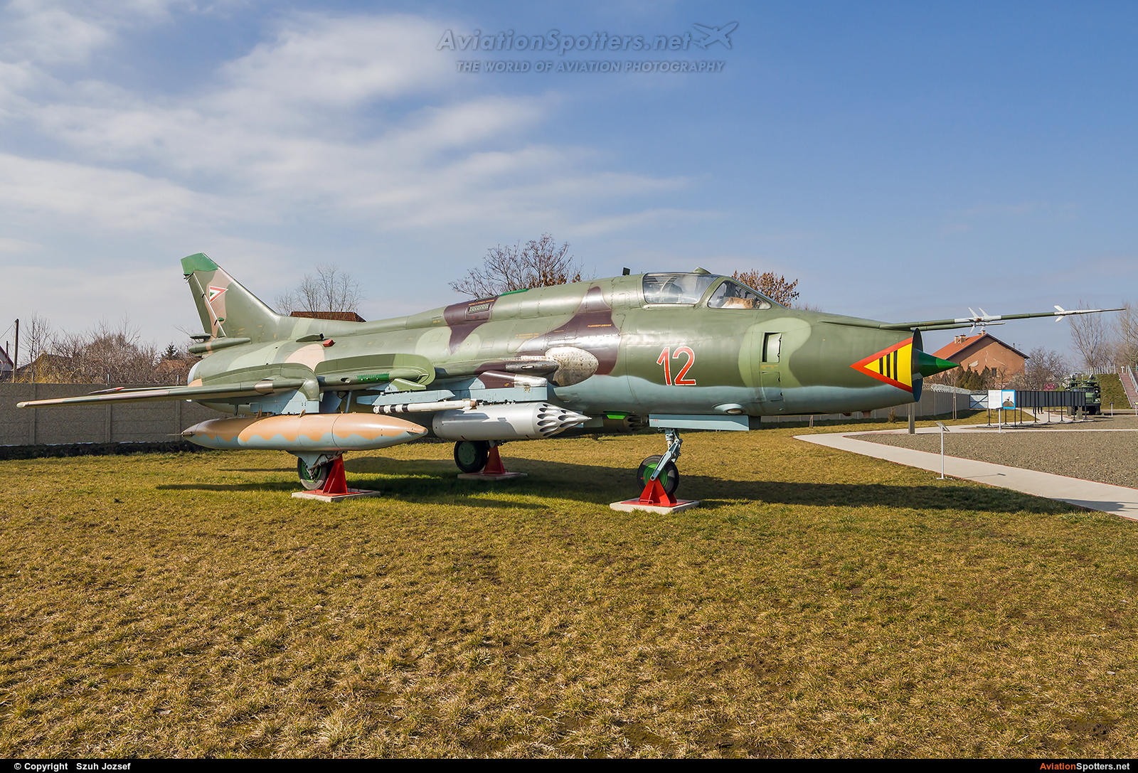 Hungary - Air Force  -  Su-22M-3  (12) By Szuh Jozsef (szuh jozsef)