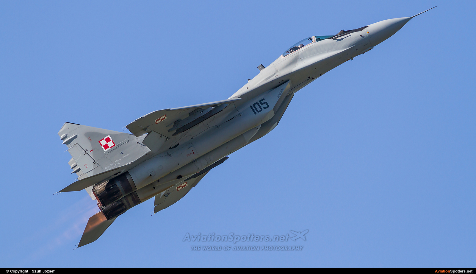 Poland - Air Force  -  MiG-29A  (105) By Szuh Jozsef (szuh jozsef)