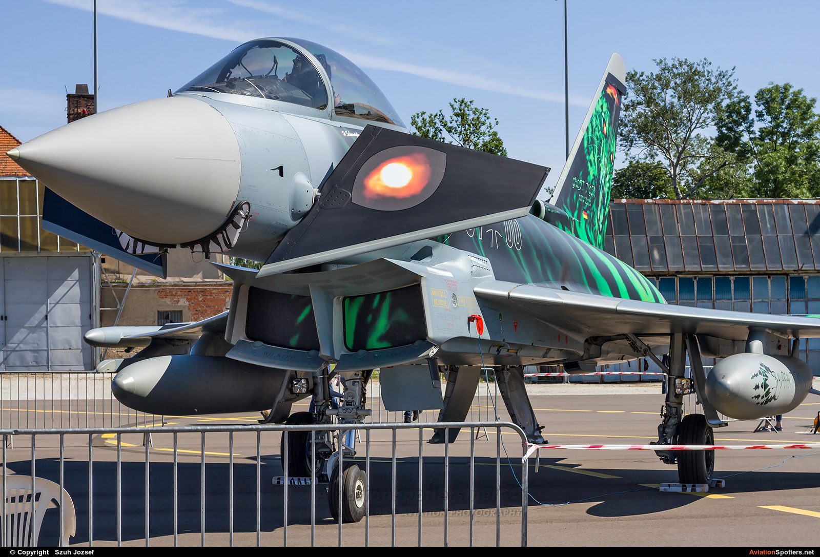 Germany - Air Force  -  EF-2000 Typhoon S  (31+00) By Szuh Jozsef (szuh jozsef)
